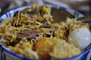 Mutton biriyani from Arsalan