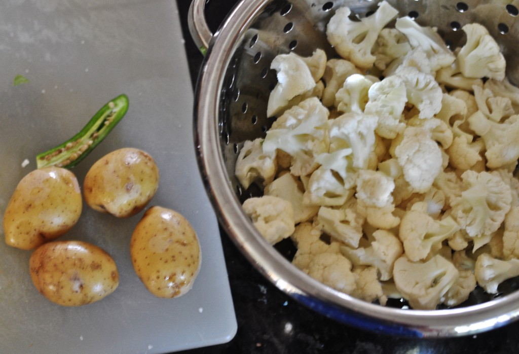 Cauliflower and Potatoes