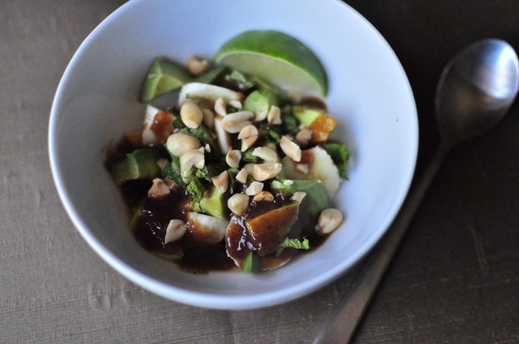 Banana Avocado Tamarind Salad