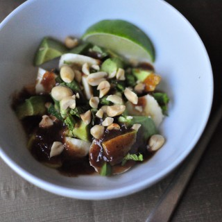Banana Avocado Tamarind Salad
