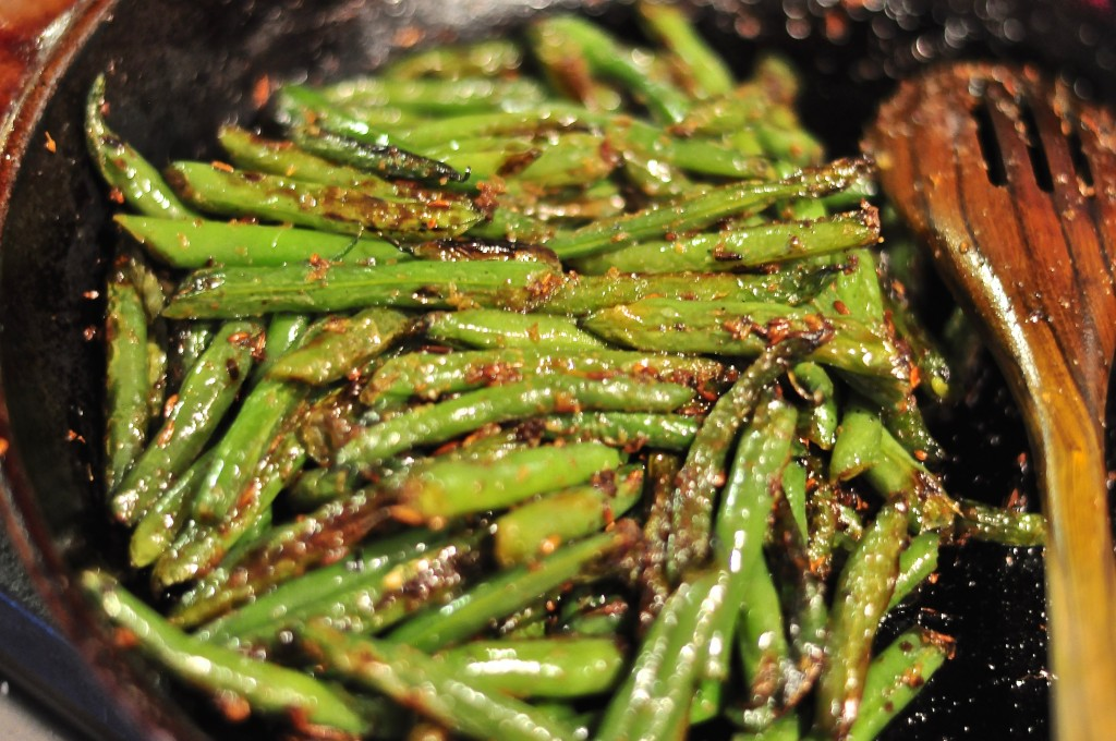 Sauteed green beans