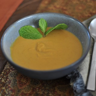 Curried Sweet Potato Bisque